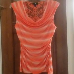 💞3 for $25💗 IZ Byer Fitted Cowl Ruched Side M